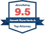 Avvo Rating - Kenneth R. Harris Jr.