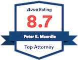 Avvo Rating - Pete McArdle, Esq.